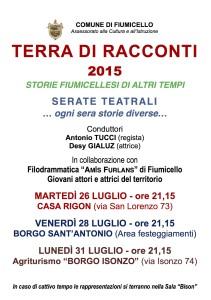 TERRA DI RACCONTI 2015...
